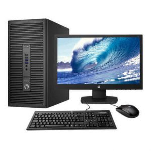 "HP ProDesk 280 G2 Intel Core i3 Tower 18.5"" LED Monitor"