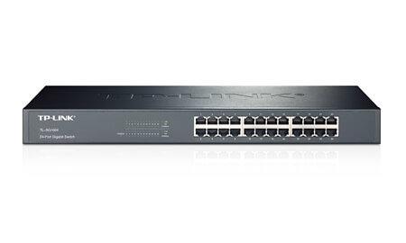 TP-Link TL-SF1024D 24 Port 10/100Mbps Desktop/Rackmount Switch