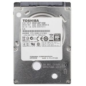 1TB Laptop Hard Disk Toshiba