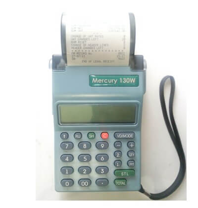 Mercury 130W ETR Machine