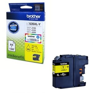 Brother LC535XLY (Yellow) Ink Cartridge