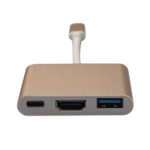 USB Type C To USB Type C & HDMI & USB 3.0