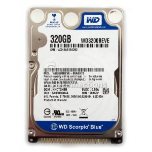 320GB WD Laptop Hard Drive