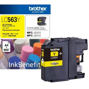 Brother LC563 Yellow Ink Cartridge