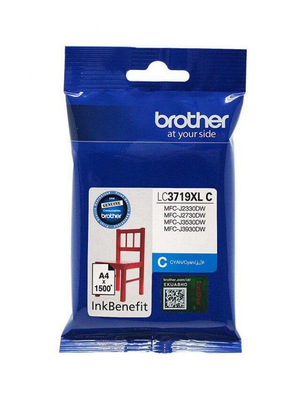Brother LC3719XLC Ink Cartridge