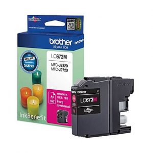 Brother LC-673M Magenta Ink Cartridge