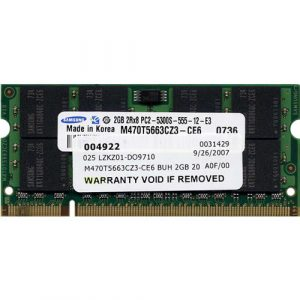 Hp 2GB FBD PC6400 RAM (450260-B21) G5 series