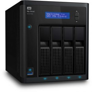 WD My Cloud Expert Series EX4100 16TB 4-Bay NAS Server