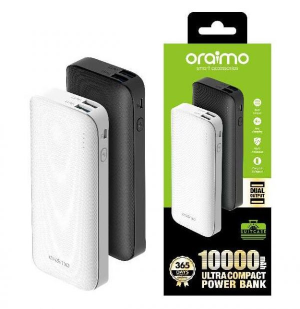 ORAIMO POWER BANK SPECIFICATIONS AND PRICE IN KENYA