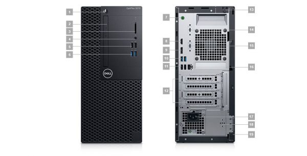 dell optiplex 3070 wifi