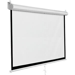 "84"" X 84"" Manual Projector Screen price"